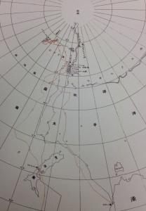 日本南極探検区域図1