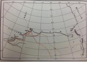 日本南極探検区域図2