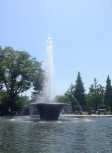 二の丸庭園噴水