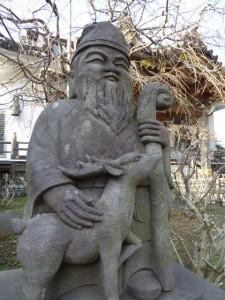 妙隆寺石像