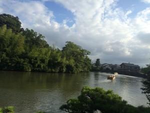 松江城お堀