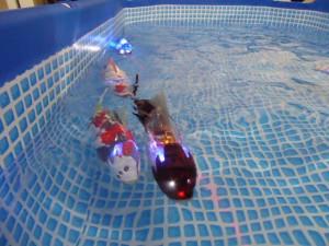 観賞魚ロボット