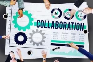 Collaboration Teamwork Cooperation Member Partner Concept